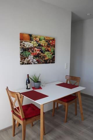 Appartement mit Veranda, modern und stadtnah - Rottweil - Apartamento