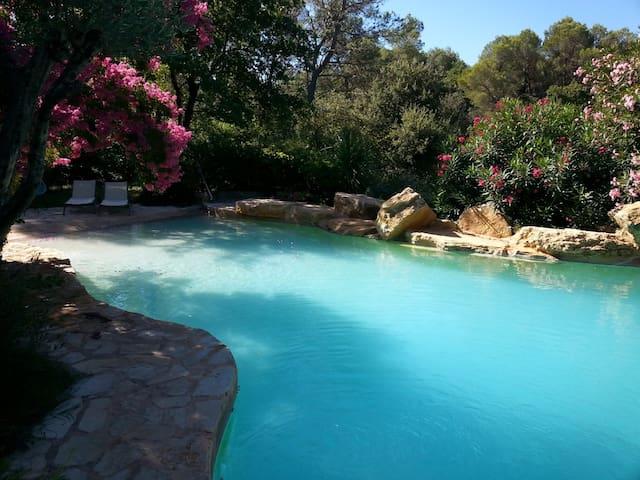 villa avec piscine 8/ 10 personnes - PIOLENC - Vila