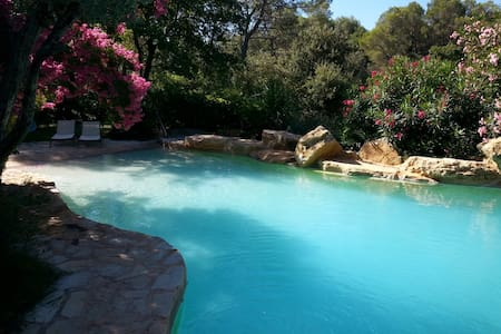 villa avec piscine 8/ 10 personnes - PIOLENC - Villa