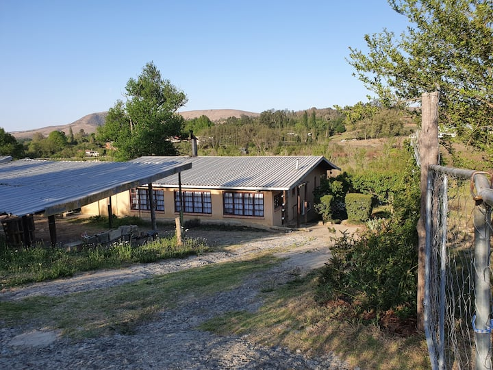 Rustic Rosetta - a basic farm stay with a view