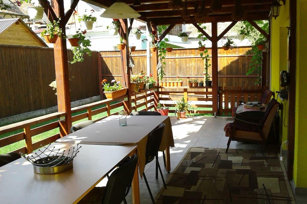 Ground Floor Terrace (30 square meters)