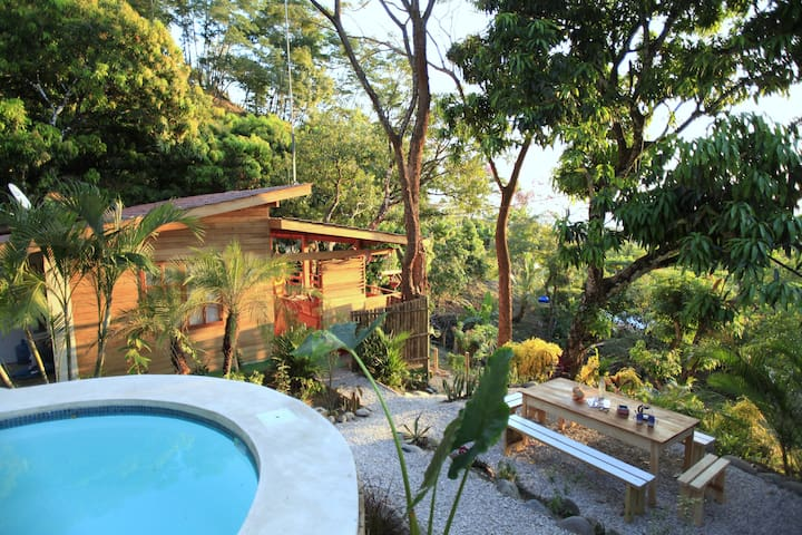 Madera Vista, ocean view, AC, Private pool - Santa Teresa Beach - Rumah