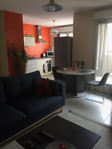 Bel appartement pour un séjour à Lyon