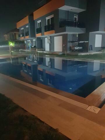 Near airport,near the beach,have a pool