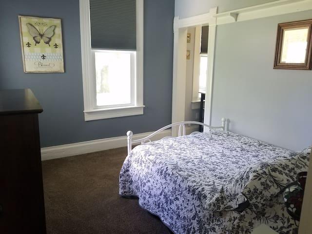 Full bedroom downstairs