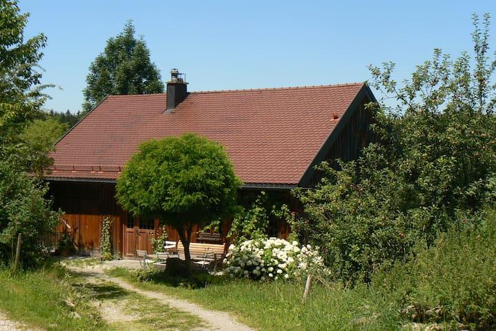 Urlaub zwischen Bergen und Seen Ökohaus - Sulzberg - House
