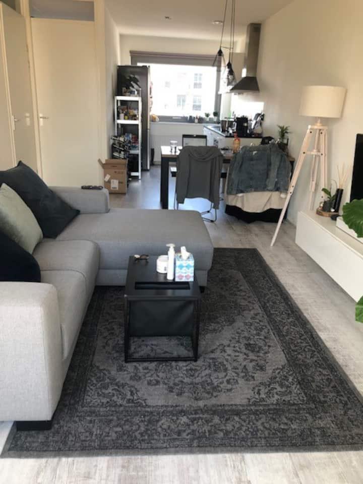 Modern 1-bedroom apartment near Amsterdam