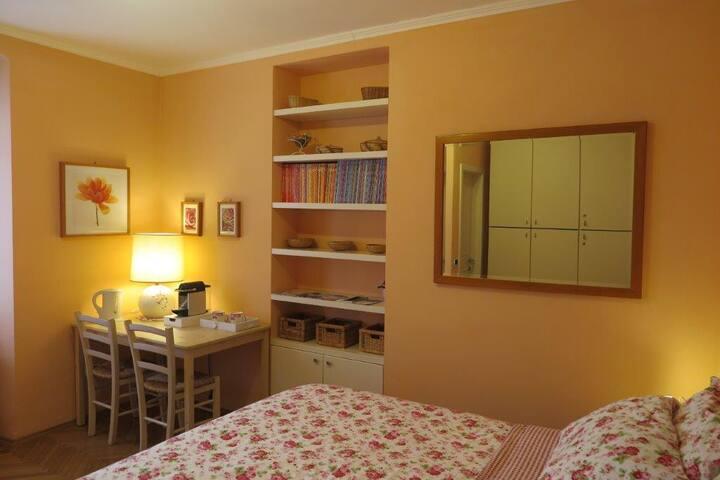 Romantica camera con bagno privato