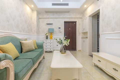 Changde Railway Station · Big and Small River Street · Willow Lake · French 1BR