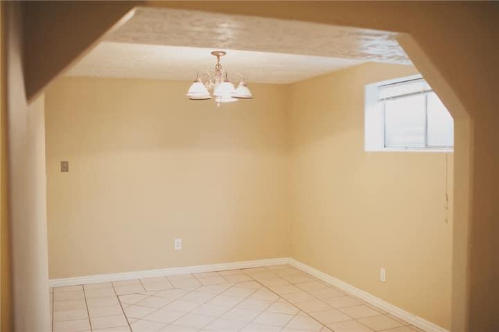 Three-Walls Bedroom