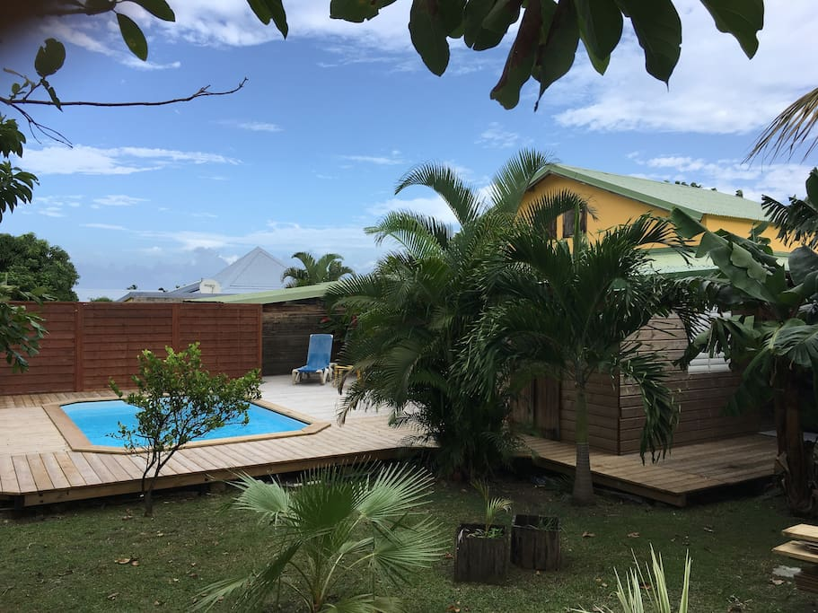 Villa vie cottages for rent in deshaies basse terre for Villa deshaies avec piscine