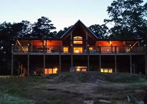 Cabin Lay Lake-2BR downstairs accessible apartment