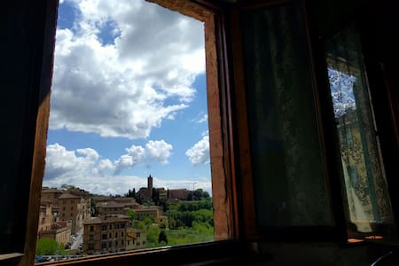 Traditional sienese apt. with view! - Apartment