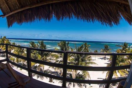 Mahahual Beachfront Condo (2nd Floor) PRECIOSO