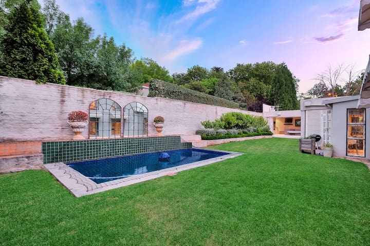 Beautiful home in Parktown North