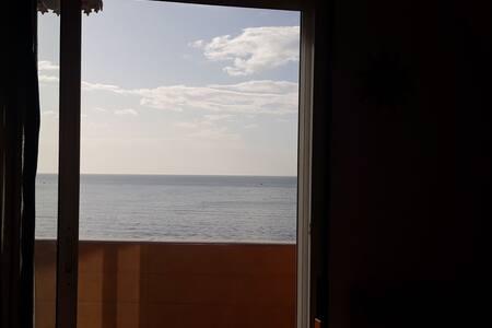 Piso con fantástica vista al mar