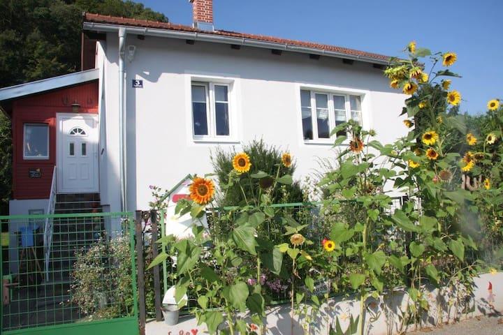 Veganes Energiehaus für Gleichgesinnte - Imbach - Rumah