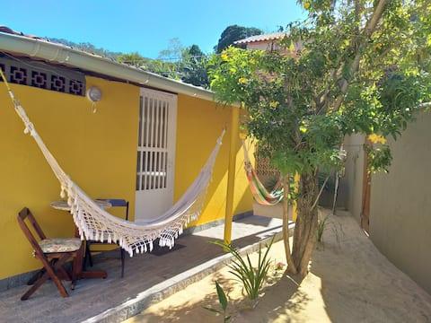Suíte Ipê Amarelo em Provetá, Ilha Grande