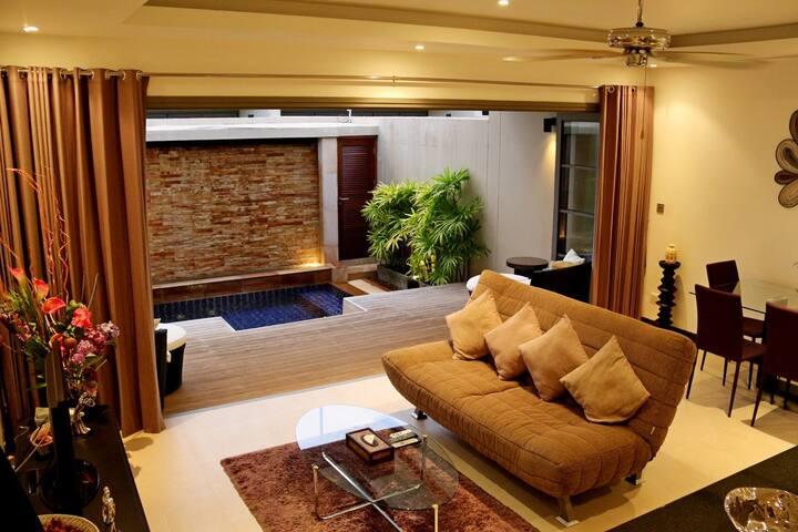 Luxury 1 bedroom villa near beach