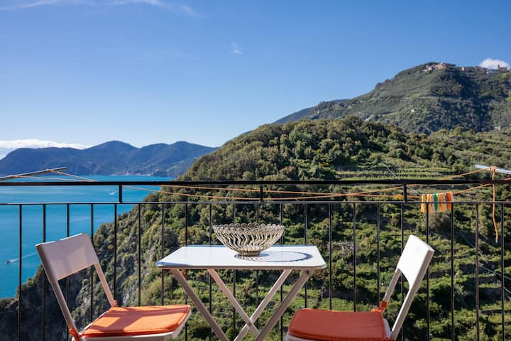Rossi tramonti 2 - Amazing sea-view from balcony