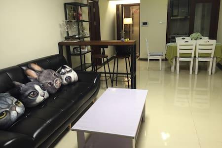 三水时代城全新公寓,出租一房,近汽车站、市中心,有公园篮球场网球场泳池 - Foshan