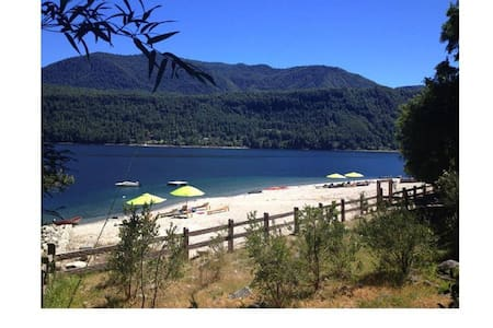 Caburgua Lake - Private Beach - House 14 people - Caburgua