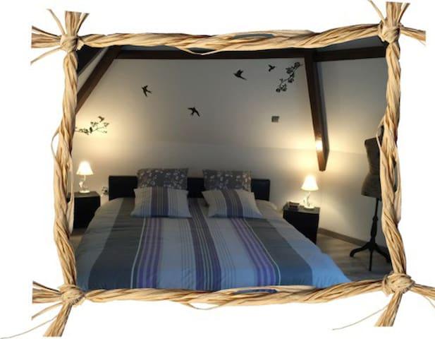 Beautiful loft **** 5mns Albert / Méaulte