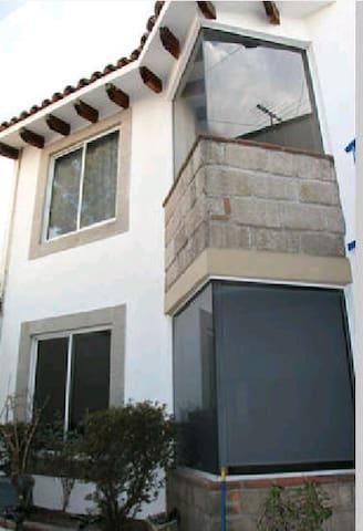 Bonita e iluminada habitación - เม็กซิโกซิตี้ - บ้าน