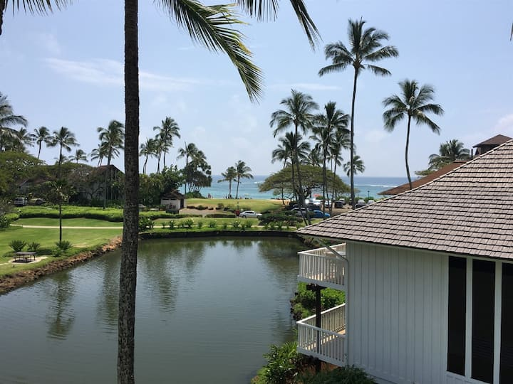 Fabulous Ocean View -Kiahuna Plantation WITH A/C