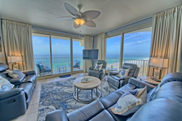 Shores of Panama~3 Bedroom 2.5 Baths~Sleeps 8~Ocean View!