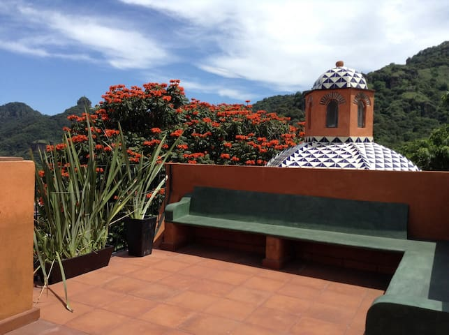Lovely Mexican House in Tepoztlan! - Tepoztlán - Hus