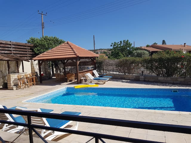 Detached house in Paraklisia, Cyprus with pool
