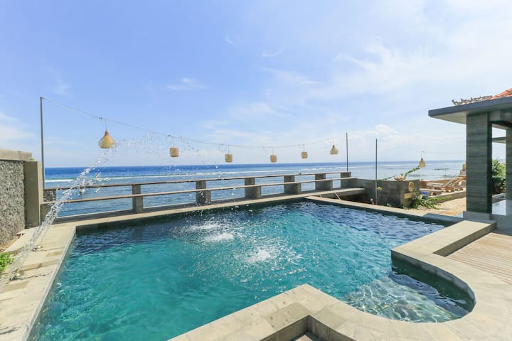 Standard Twin for 3 Pax, Waterside Inn Nusa Penida