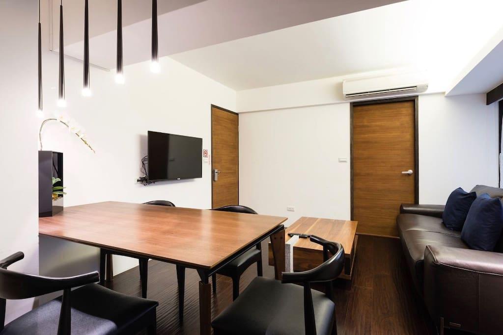 公寓A客廳  Apartment A-Living Room