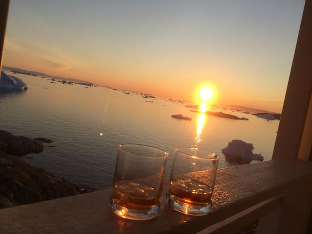 Drink in the midnight sun