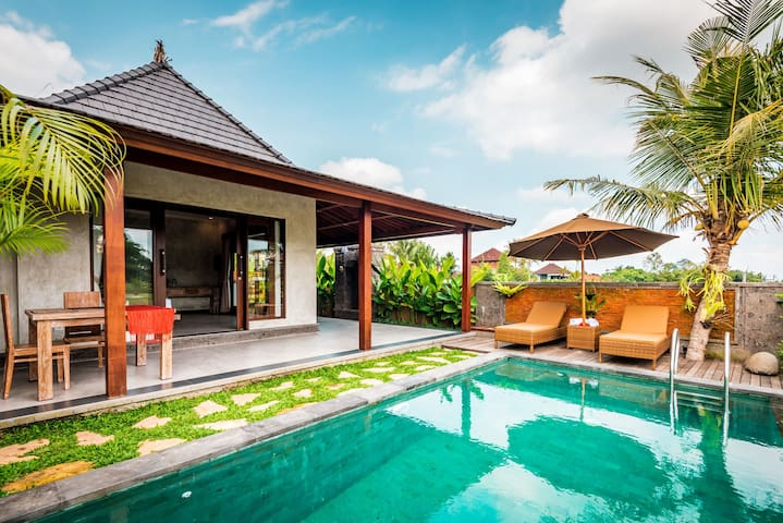 Private Villa 1BR with Rice Fields View 1#