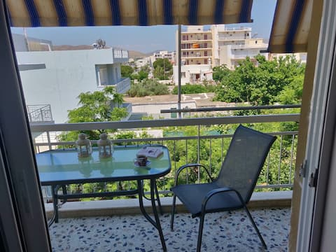 Lovely flat in Karystos next to the beach