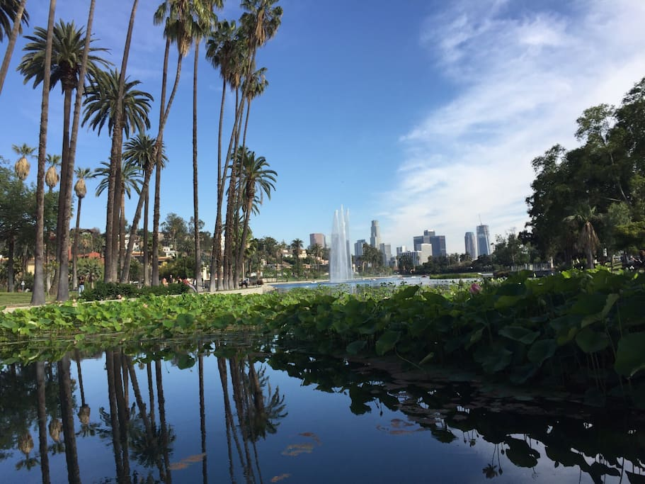 Just 15 minutes to the beautiful Echo Park lake and Downtown.