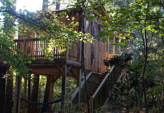 Treasure Hunt Treehouse in Kennesaw Georgia