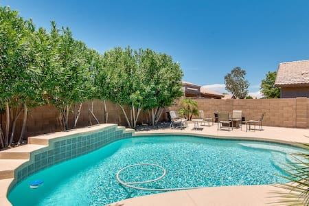 Private Heated Swimming Pool in Apache Junction - Hus
