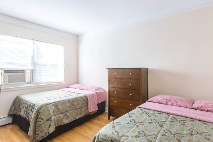 bedroom apartment walk to train flats for rent in long island