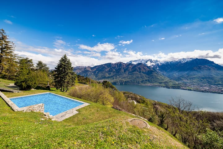 Lake Como - Lovely, secluded apartment Bellagio.