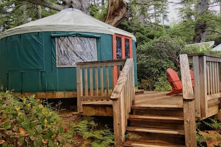 6. Large Ocean Front Yurt