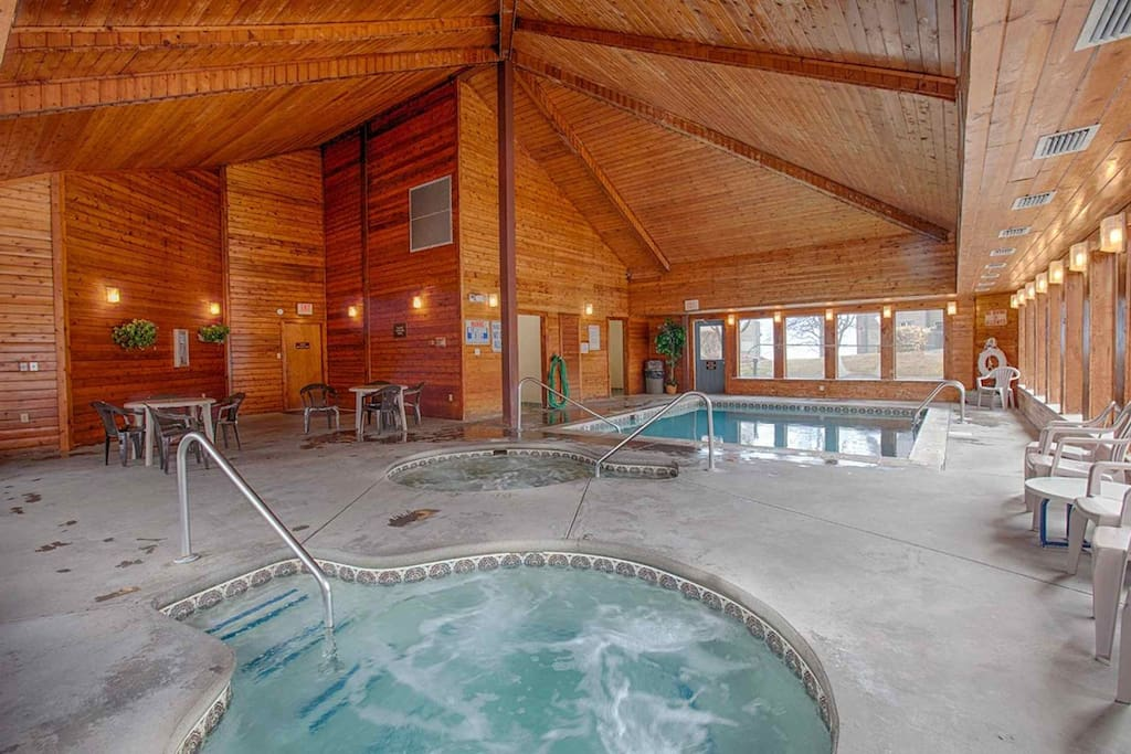 Summit Condominiums features both indoor and outdoor pools, along with several hot tubs!