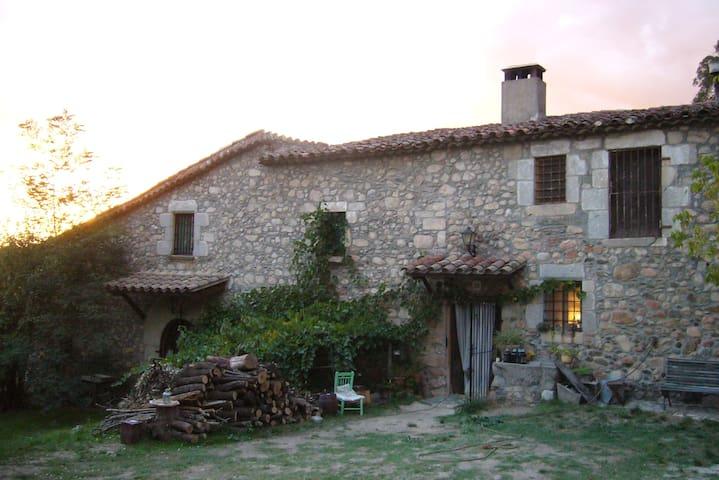 habitacion 2 plazas en masia s.XII