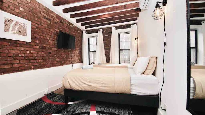 Beautiful ❤️ two-beds private room in Times Square