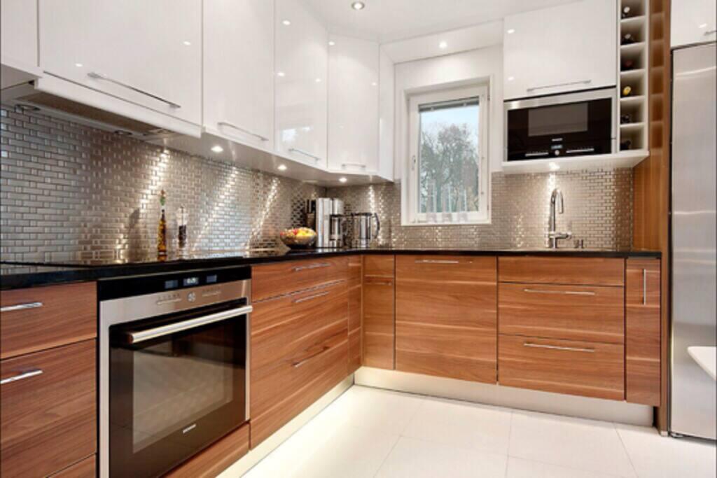 Modern kitchen with a nice design