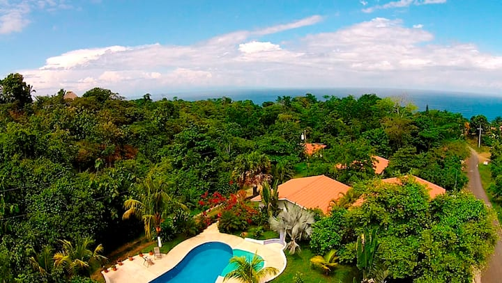 Hotel Three Monkeys, 800 meters outside Montezuma