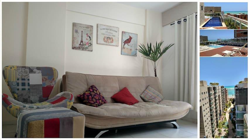 Lindo Apartamento   JTR - A Beira Mar de Maceió!