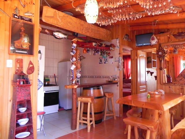 Cabaña Huilliche